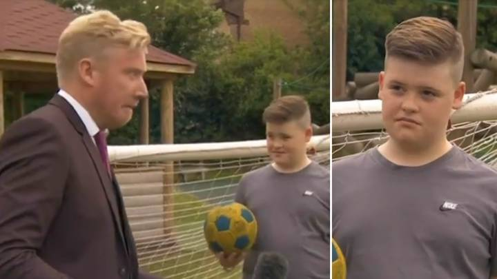 Young Man Utd Fan Tells Reporter He Wants Chelsea To 'Leather' Man City Live On-Air In Viral Footage