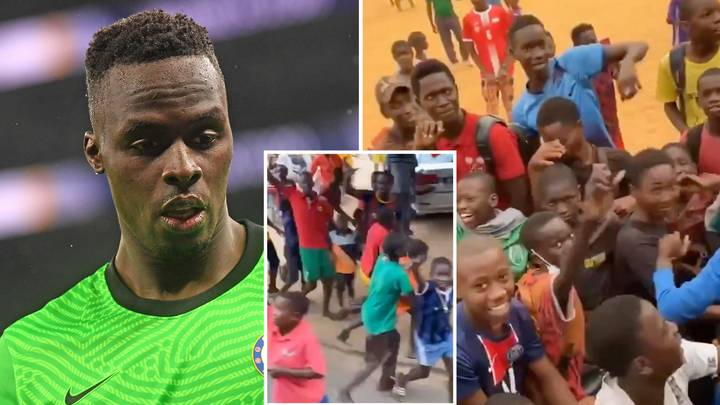 Edouard Mendy Gets Spine-Tingling Hero's Welcome In Senegal After Chelsea's Champions League Win