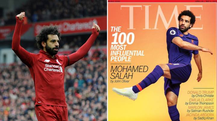 Liverpool's Mohamed Salah Named In Time's 100 Most Influential People In The World