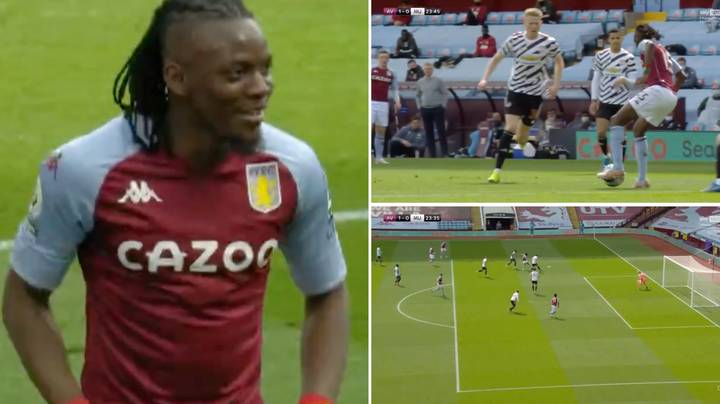 Bertrand Traore Picks Out Top Corner From A Very Tight Angle To Score Spectacular Goal
