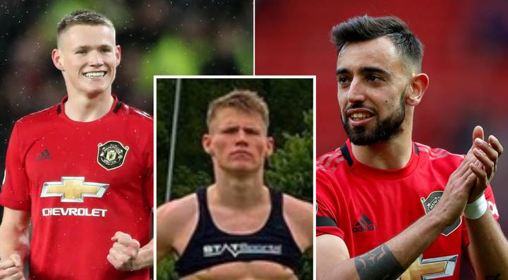 Bruno Fernandes Reacts To Scott McTominay's Impressive Lockdown Physique