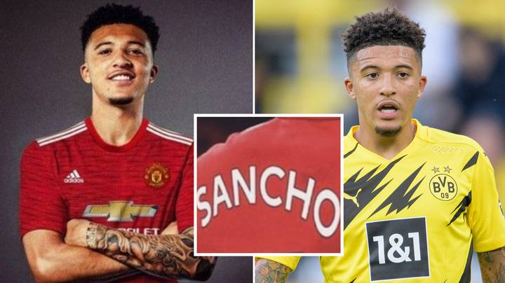 Jadon Sancho's Manchester United Shirt Number Has Been Revealed