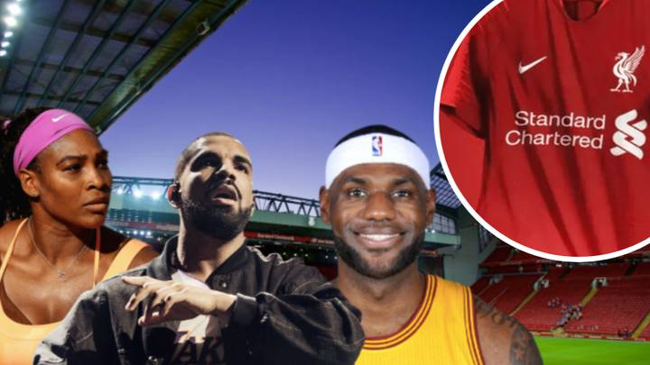 Liverpool Agree £30 Million Kit Deal With Nike, Drake And LeBron James Will Promote New Shirt