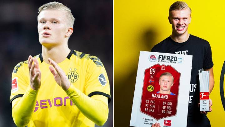 Erling Haaland Wins Bundesliga Player Of The Month Despite Only Playing 59 Minutes