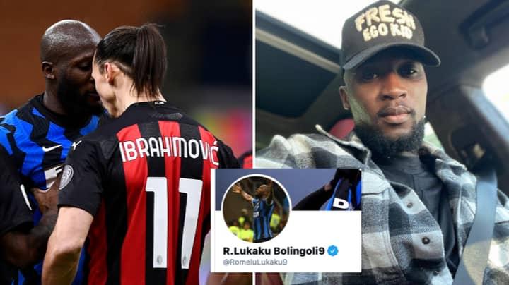 Romelu Lukaku Aims 'King Of Milan' Tweet At Zlatan Ibrahimovic After Inter Milan Become Serie A Champions