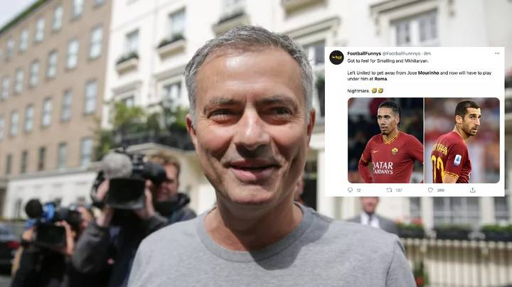 The Best And Funniest Reactions To Jose Mourinho Becoming Roma Manager