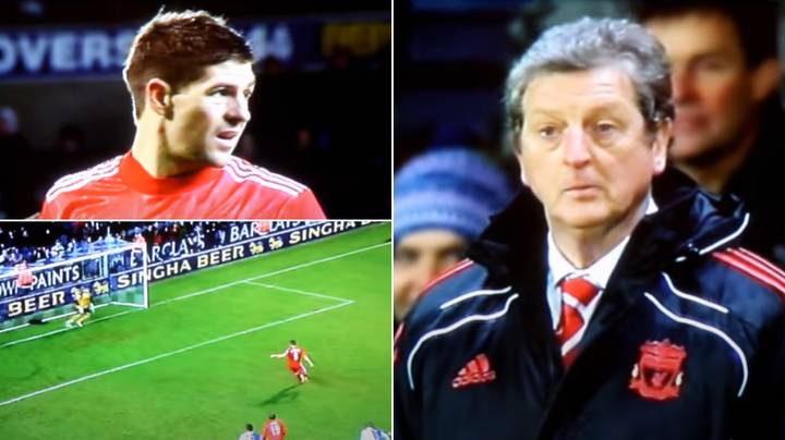 Liverpool Fans Still Reckon Steven Gerrard Missed A Penalty On Purpose To Get Hodgson Sacked