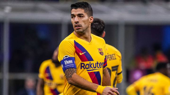 Luis Suarez Had A Manchester United Clause In His Barcelona Contract