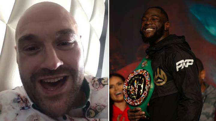 """Tyson Fury Brands Deontay Wilder A """"P***y"""" For Missing Media Commitments"""