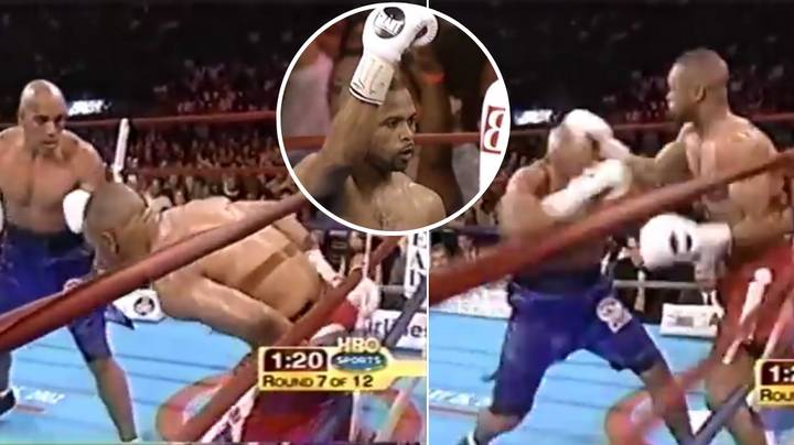 Roy Jones Jr Once KO'd Fighter With Hands Behind His Back