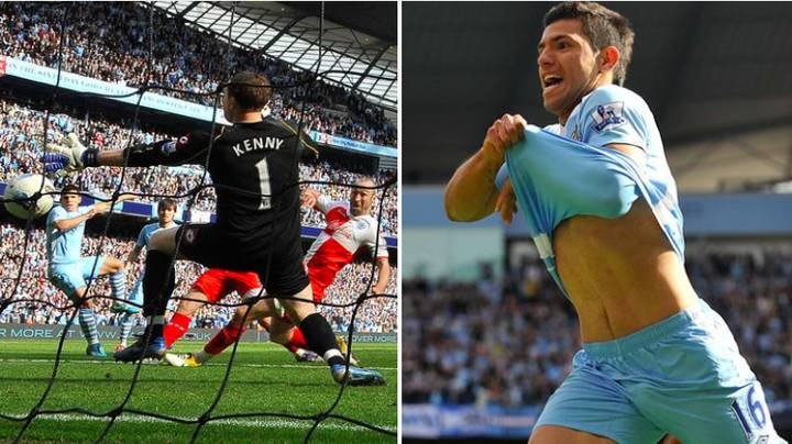 Six Years Ago, Sergio Aguero Scored The Most Dramatic Goal In Premier League History