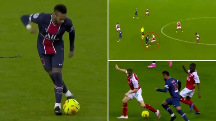 Neymar's Sensational Highlights In Central Midfield Vs Reims Prove He Is The Complete Footballer