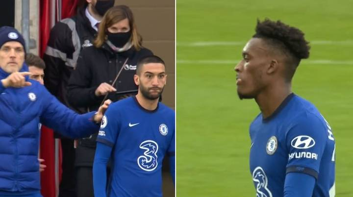 Callum Hudson-Odoi Substituted Just 31 Minutes After Coming On During Southampton Vs Chelsea