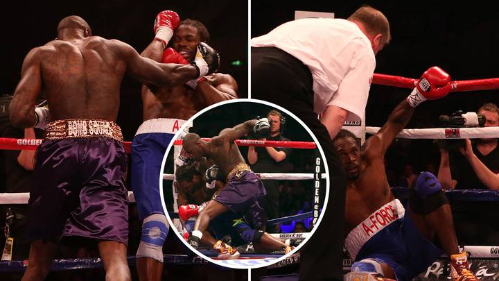 When Deontay Wilder Destroyed Audley Harrison In His Only Boxing Match In The UK