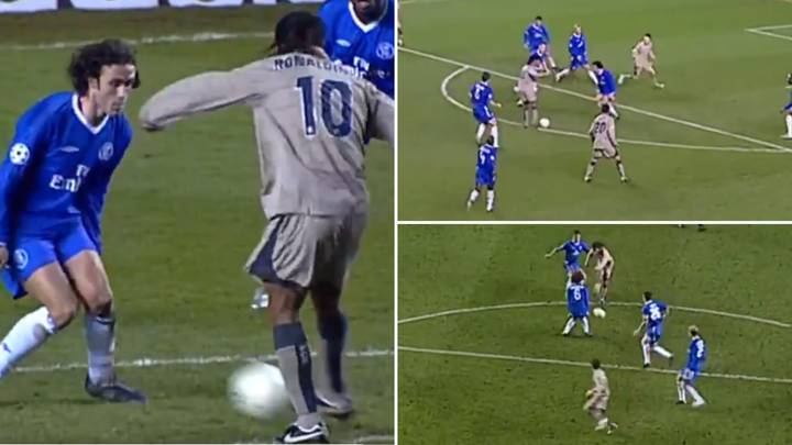 On This Day In 2005, Ronaldinho Scored THAT Iconic Goal Against Chelsea And It's Still Jaw-Dropping