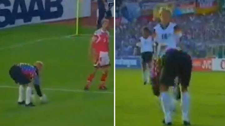 When Peter Schmeichel And Denmark Forced The Back Pass Rule To Be Changed