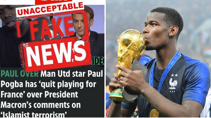 Furious Paul Pogba Responds To Reports He's Quitting France National Team