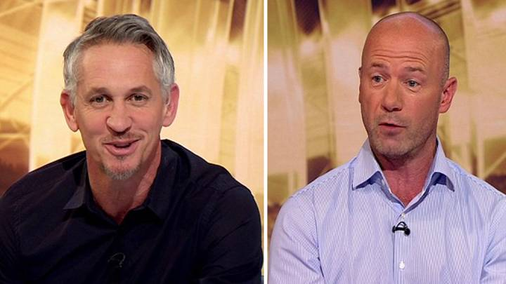 Gary Lineker And Alan Shearer Amongst BBC's Top Earners