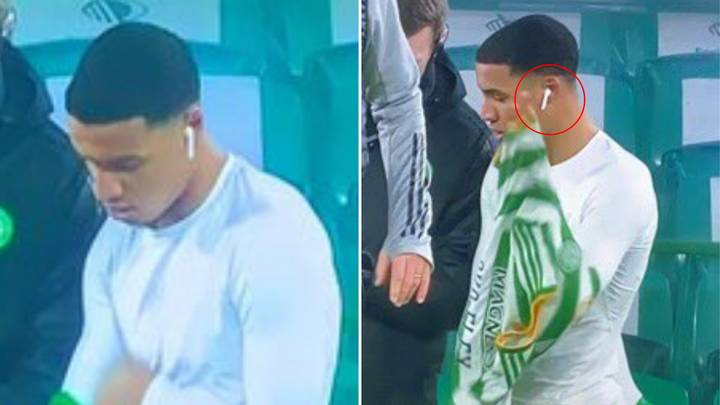 Armstrong Oko-Flex Nearly Makes Celtic Debut With AirPods In His Ears