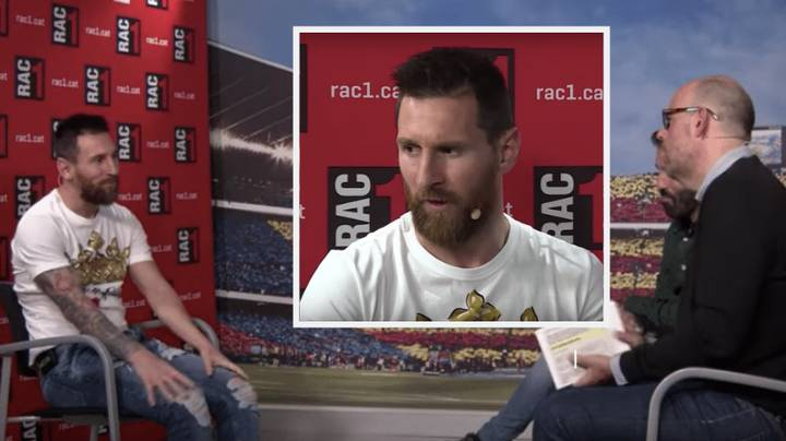 Lionel Messi Admits For The First Time That He Wanted To Quit Barcelona