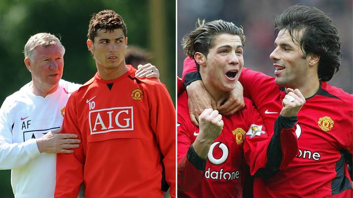 "Ruud Van Nistelrooy Told Cristiano Ronaldo He Should ""Be In The Circus"" During Furious Training Bust-Up"