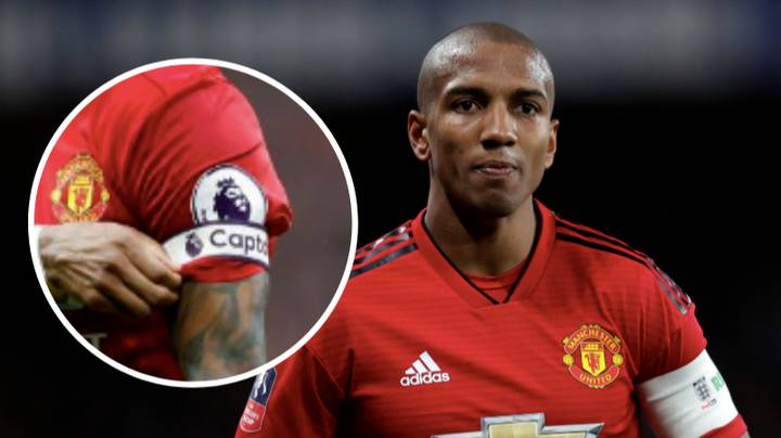 Ashley Young Will Be Manchester United's New Club Captain This Season