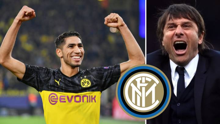 Inter Milan 'On The Verge' Of Signing Achraf Hakimi From Real Madrid