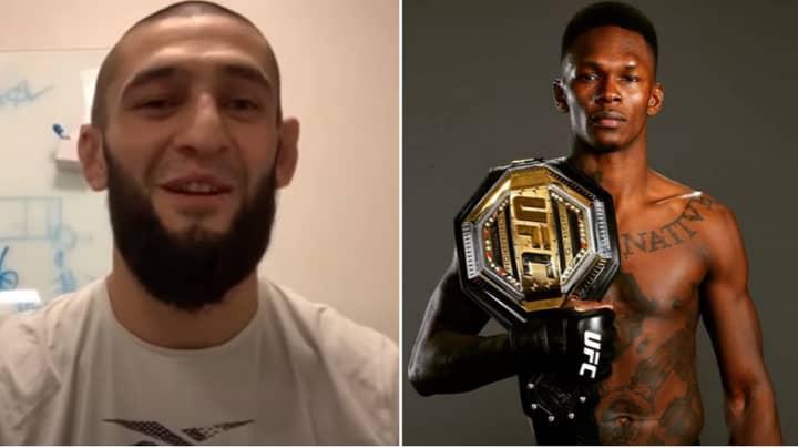 """UFC Star Khamzat Chimaev Fires Back At Israel Adesanya For """"Rat Lip"""" Comment"""