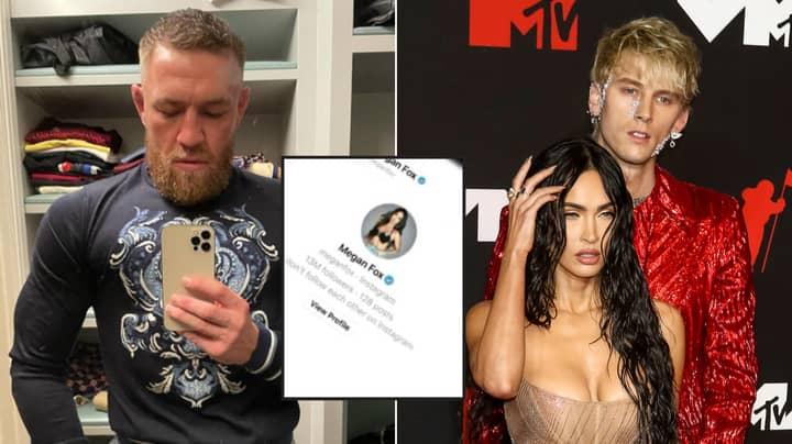 Conor McGregor's 'DMs To Megan Fox' Caused Machine Gun Kelly Incident