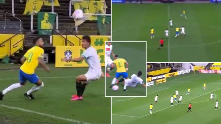 Neymar Was His Usual Ridiculous Self In Brazil 5-0 Thrashing