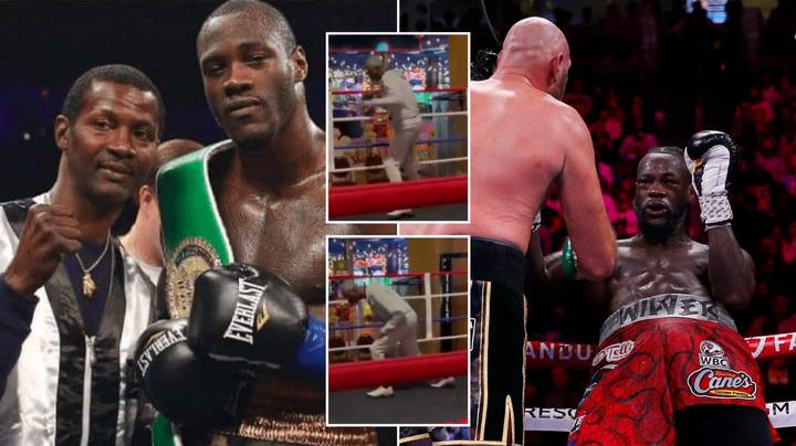 The Coach Deontay Wilder Sacked Posts Cryptic Video In Response To Tyson Fury Defeat