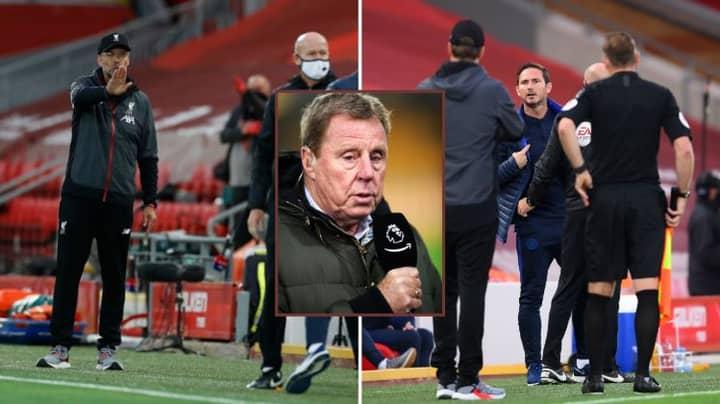 Harry Redknapp Responds To Frank Lampard And Jurgen Klopp's Touchline Argument