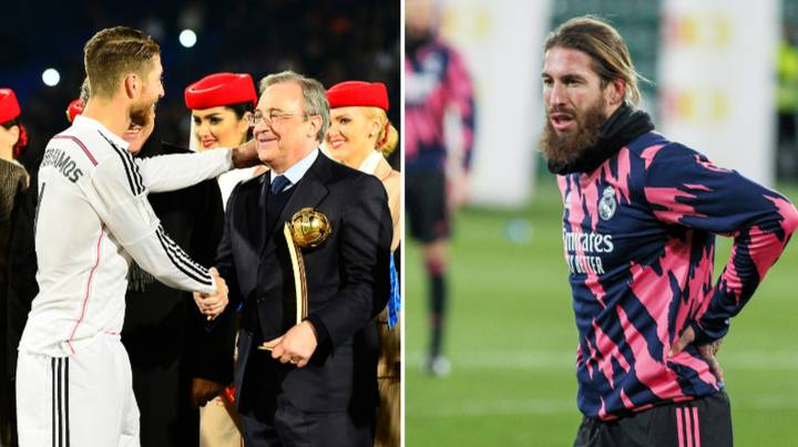 Real Madrid President Florentino Perez Has Told Sergio Ramos To Join Paris Saint-Germain