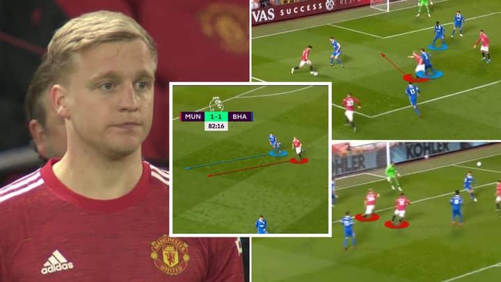 Donny Van De Beek 'Won' Man Utd Vs Brighton Without Touching The Ball In Fascinating Analysis