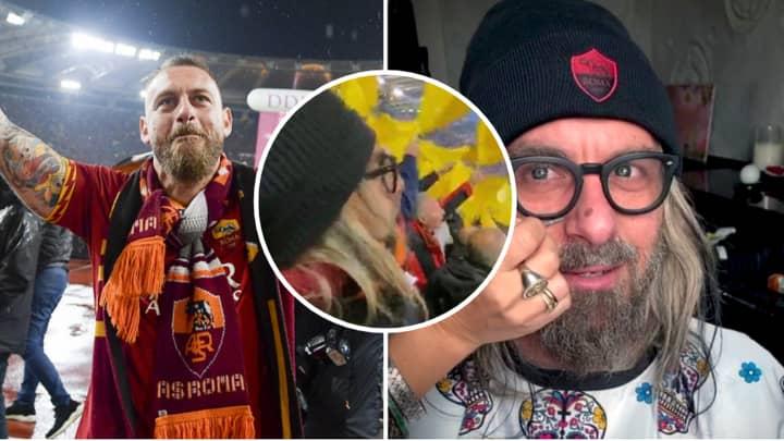 Daniele De Rossi Watches Derby Della Capitale In Disguise With Roma Ultras