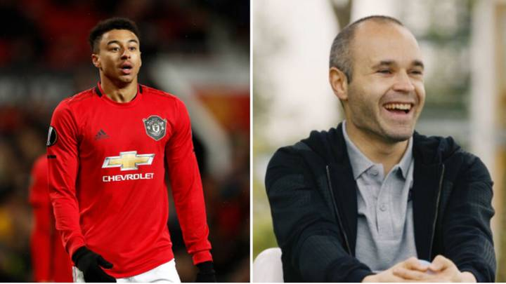 Former Manchester United Assistant Says Jesse Lingard Has Same Attributes As Andres Iniesta