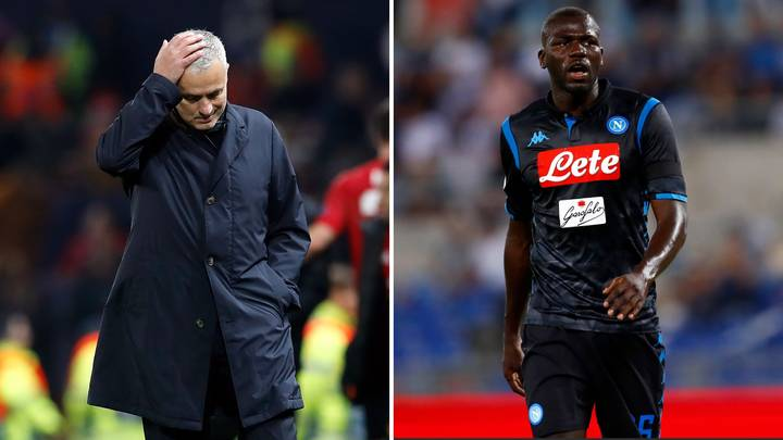 Manchester United Have Had A £91m Bid Rejected For Napoli's Kalidou Koulibaly