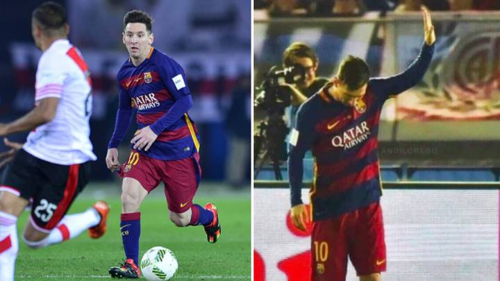 The Time When Lionel Messi Apologised For Scoring A Goal