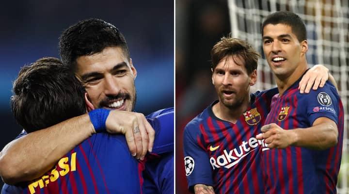 Luis Suarez Clears Barcelona Exit Rumours After Lionel Messi Claim