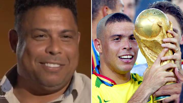 Ronaldo Names The Best He Ever Played And Trained With During Legendary Career