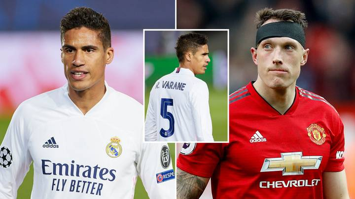 Raphael Varane In Line To Take 'Unexpected' Shirt Number At Manchester United