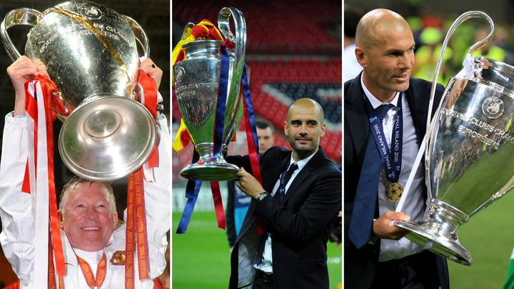 The 10 Greatest Managers In Champions League History Have Been Revealed