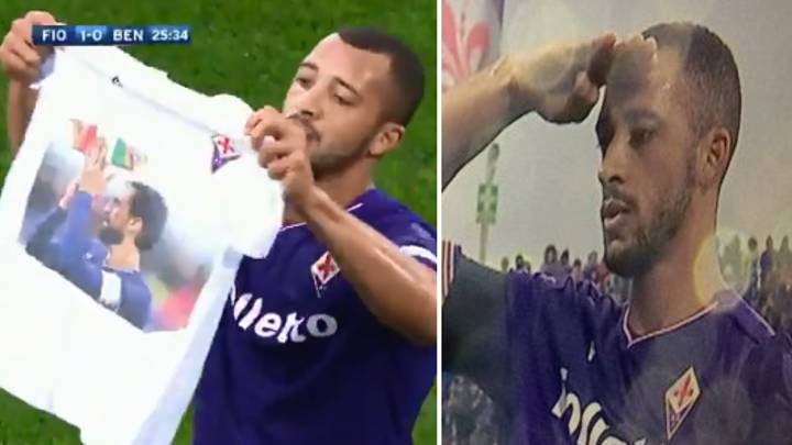 Fiorentina Score First Goal Since Astori Death, Hugo Honours Him With Touching Tribute