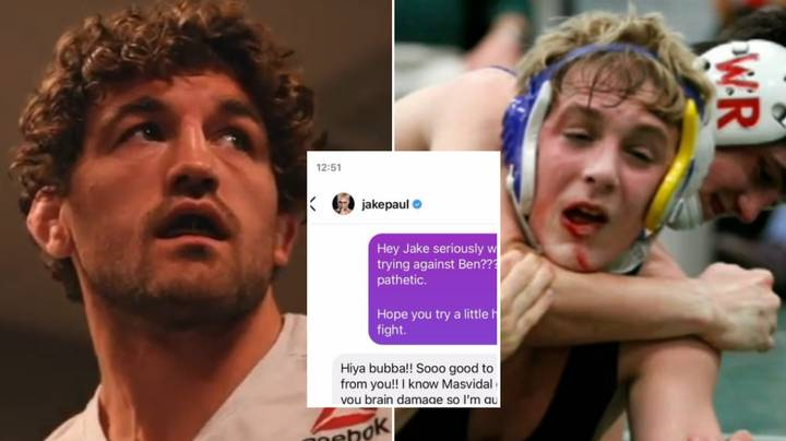 Jake Paul And Ben Askren Exchange Taunting Messages In Leaked DMs