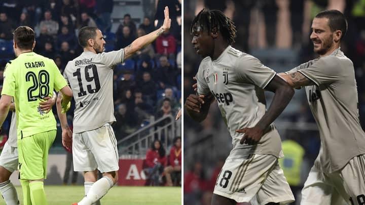 Moise Kean '50-50' To Blame For Racist Abuse Received During Cagliari Match, Says Juventus' Leonardo Bonucci