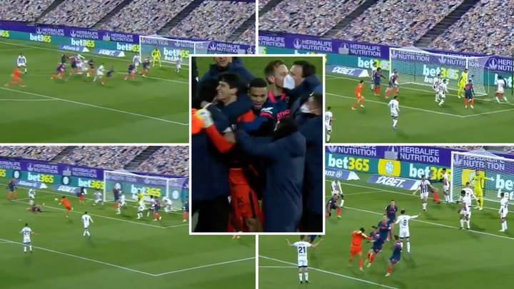 Sevilla Goalkeeper Scores Superb Equaliser Against Real Valladolid With Final Touch Of The Game