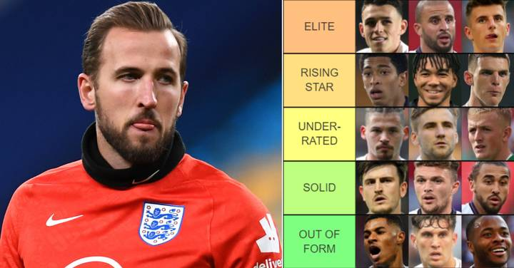 England's Euro 2020 Squad Ranked From 'World Class' To 'Why Are they Going?'