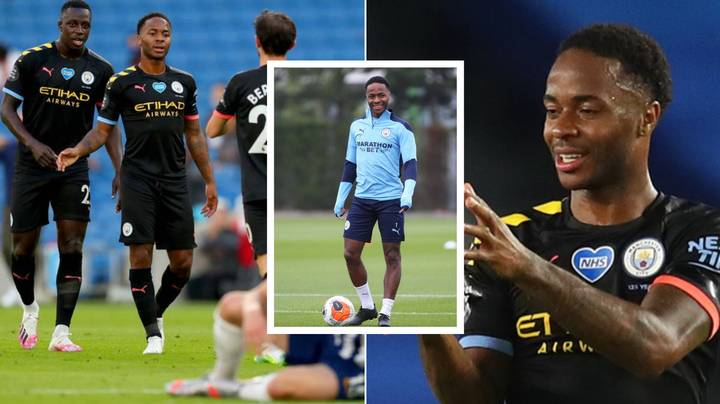 Why Raheem Sterling Has Been Training In Adidas Boots