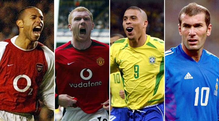 The 50 Greatest Footballers Of The 1990s Have Been Named And Ranked