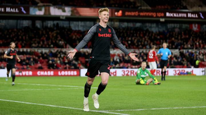 When Sam Clucas Celebrated In Front Of Swansea City Fans After Scoring For Stoke